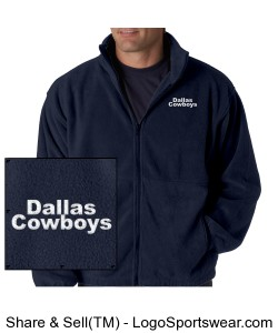 Dallas Cowboys Fans United - Jacket Design Zoom